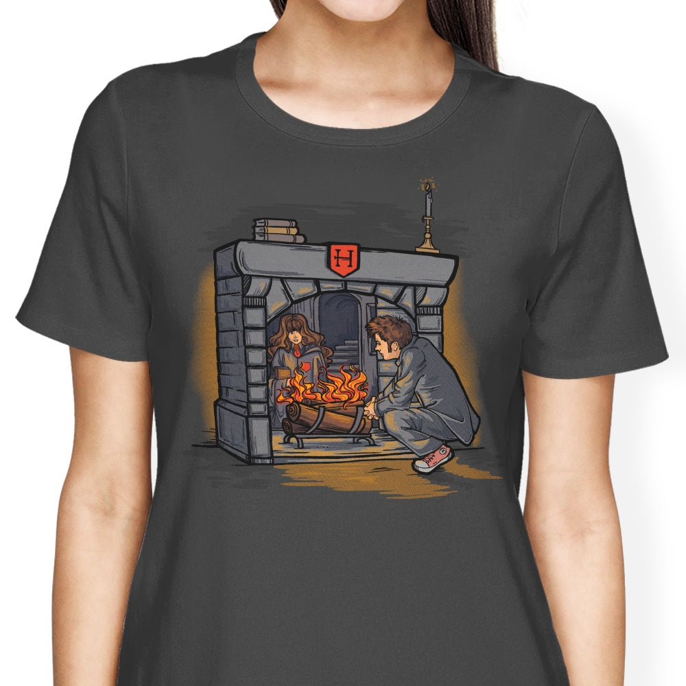 The Witch in the Fireplace - Women's Apparel