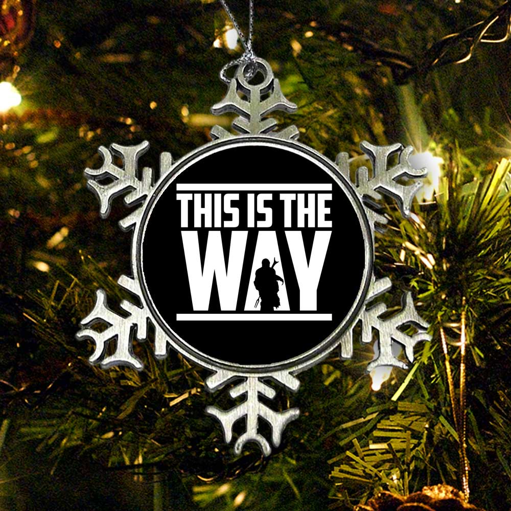 This is the Way - Ornament