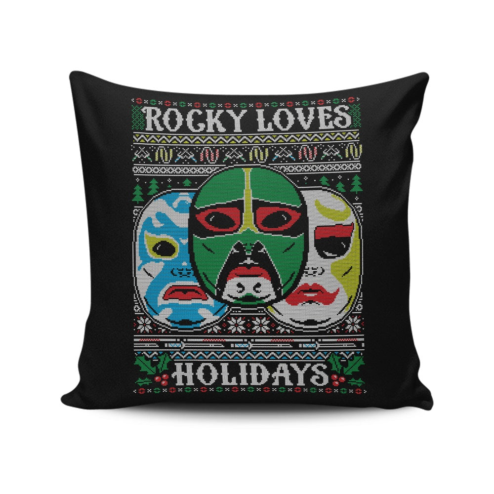 Three Ninja Holidays - Throw Pillow
