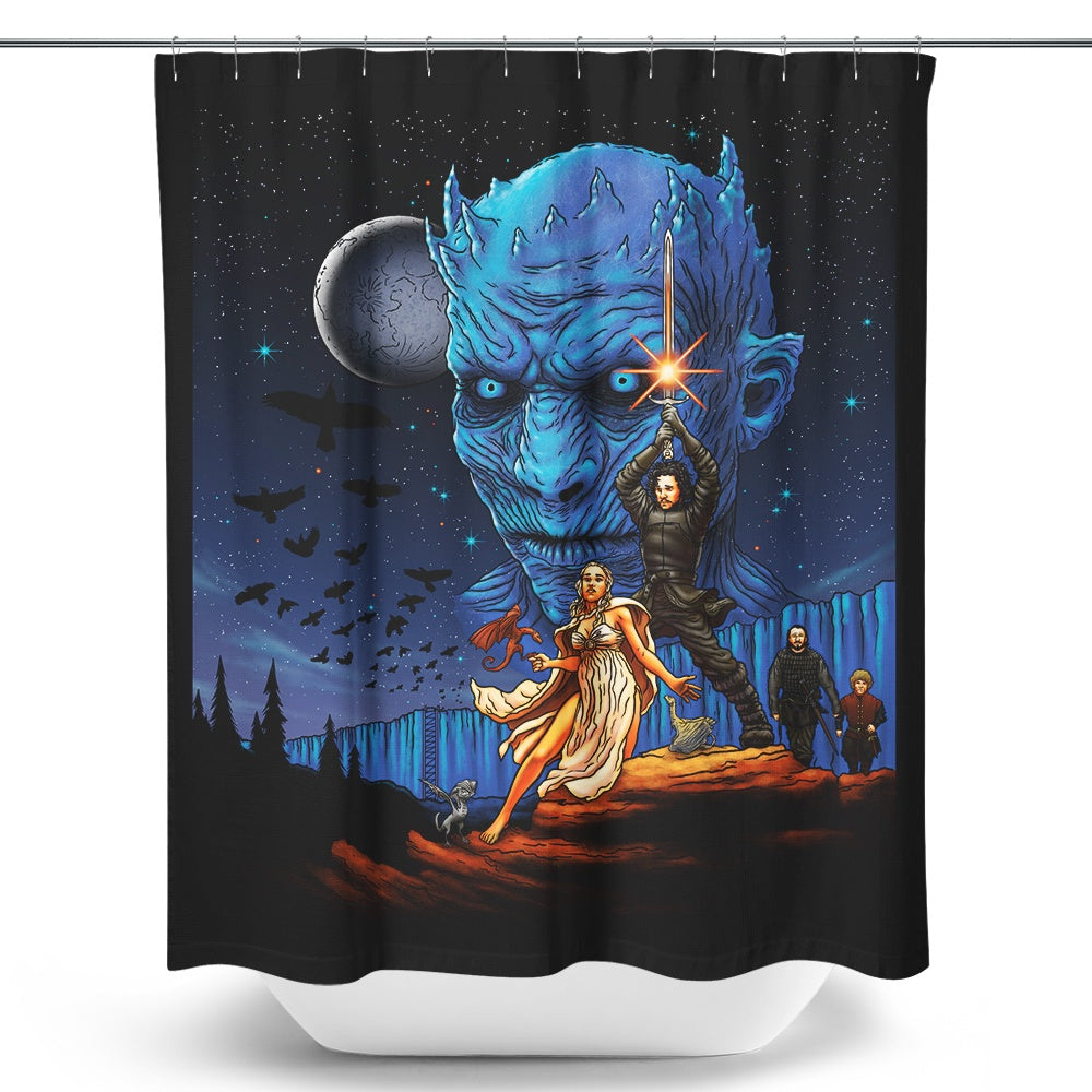 Throne Wars - Shower Curtain | Once Upon a Tee