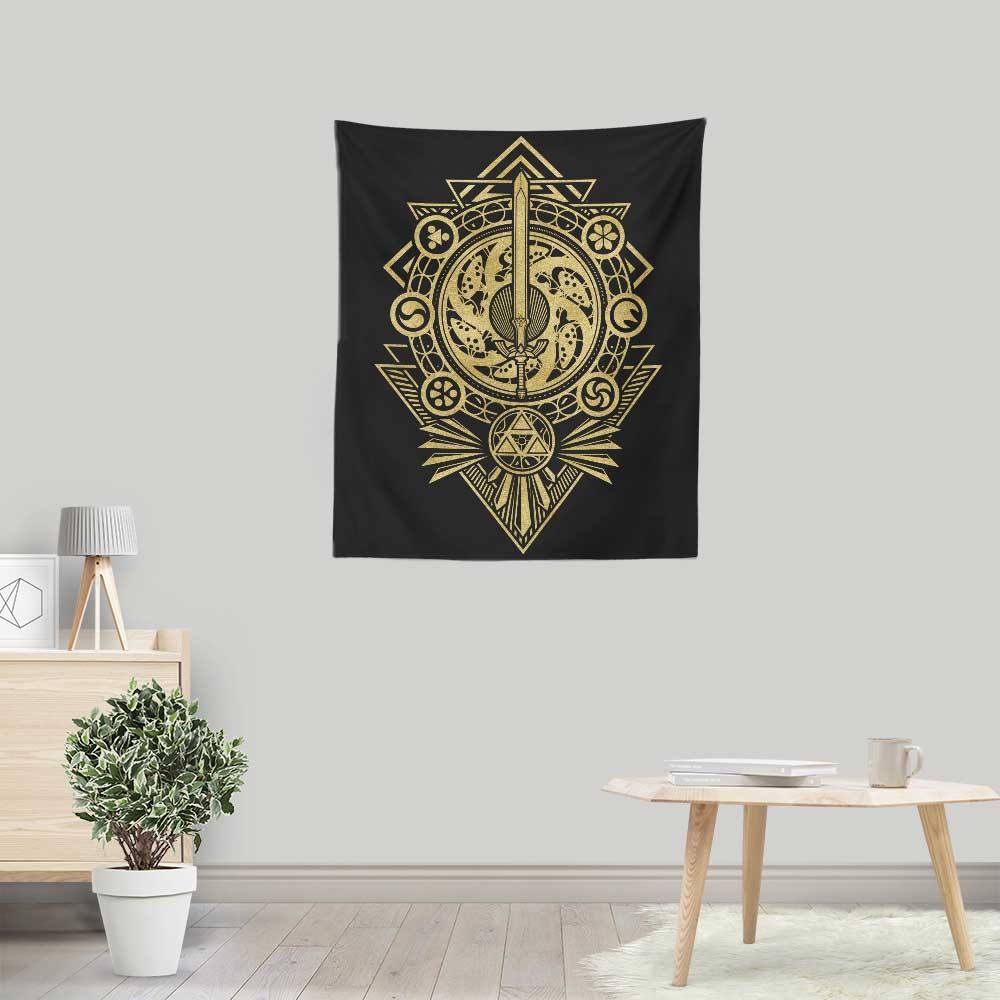 Timeless Hero - Wall Tapestry