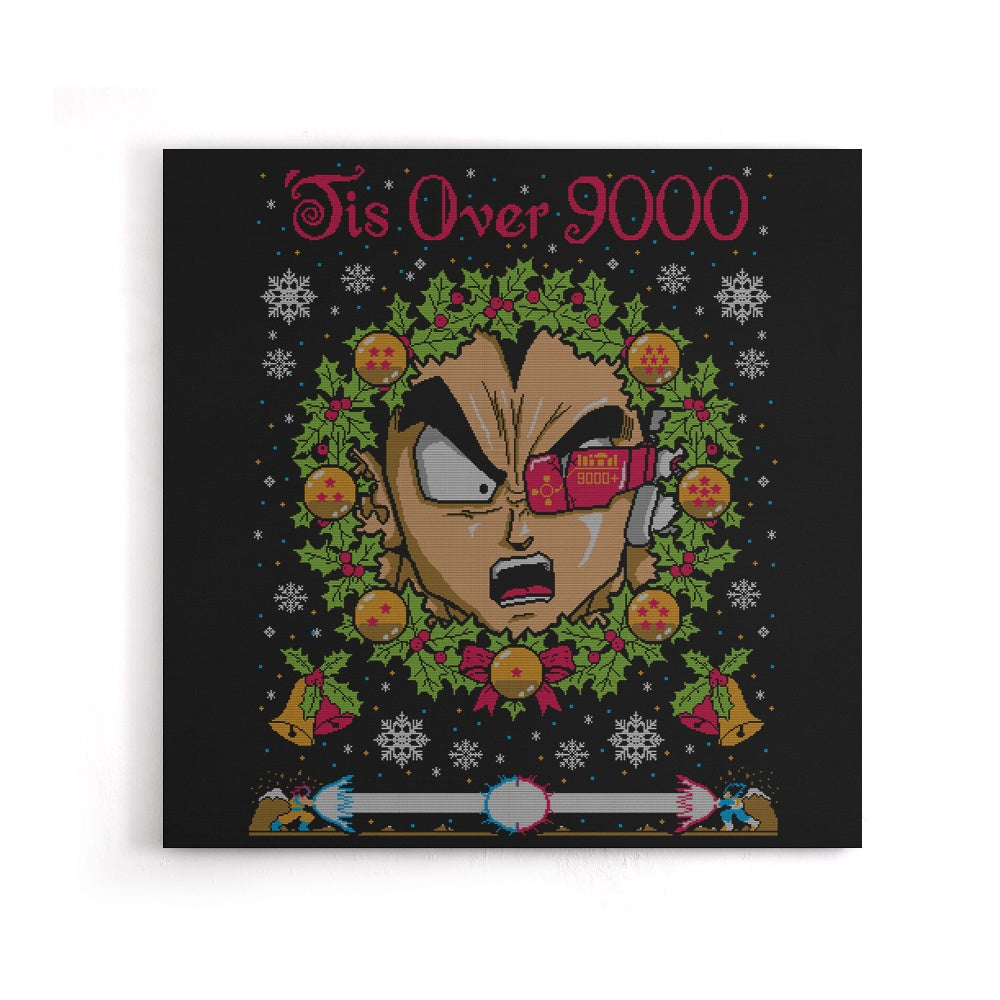 Tis Over 9000 - Canvas Print