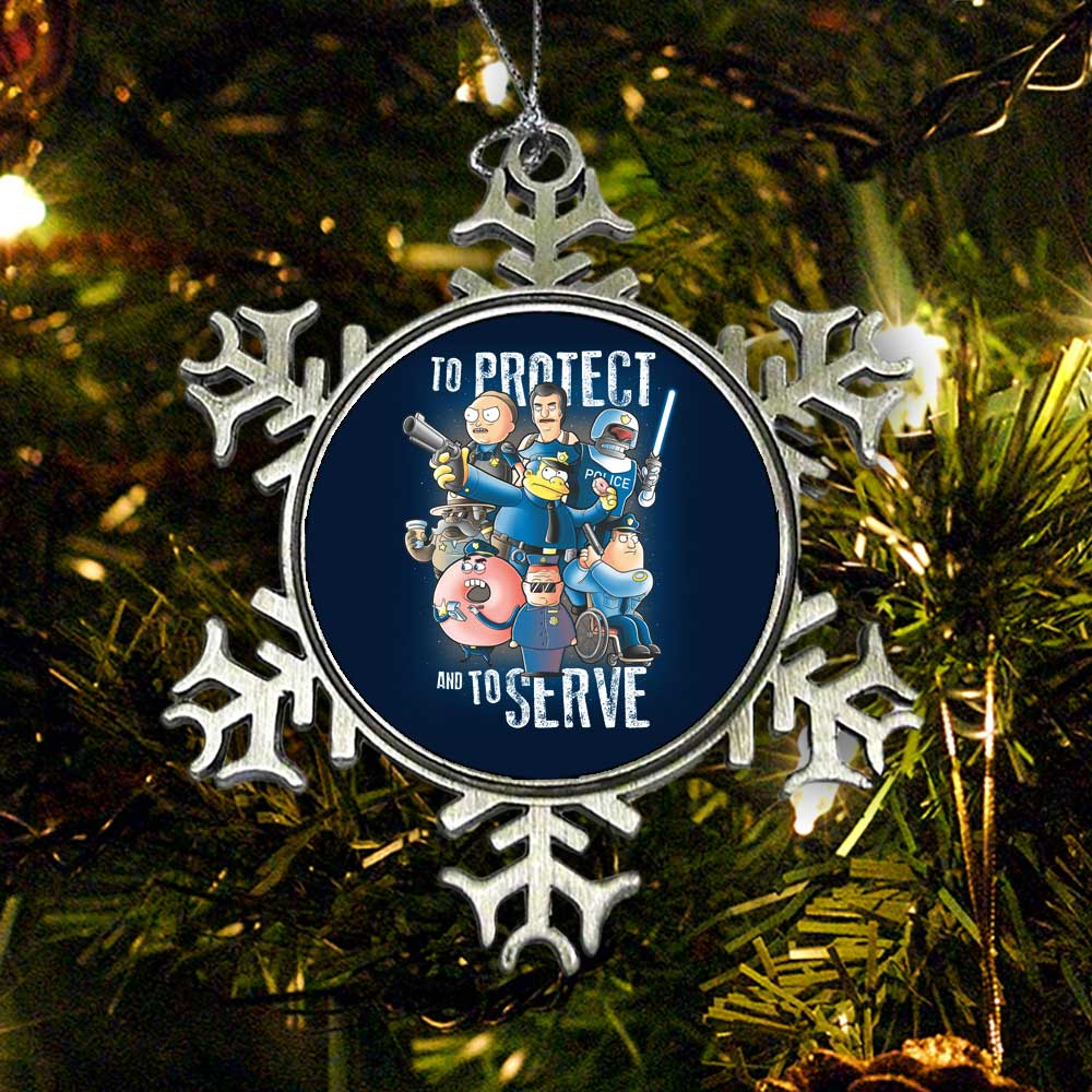 To Protect and Serve - Ornament