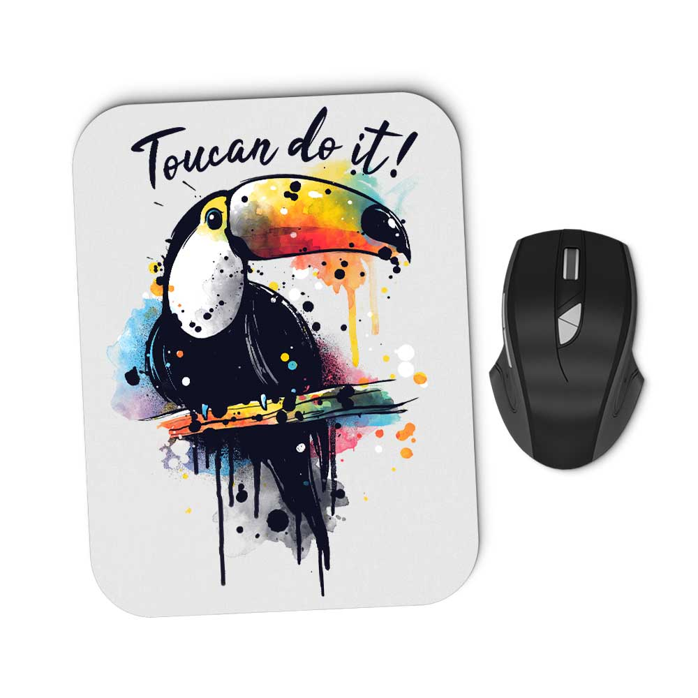 Toucan Do It - Mousepad