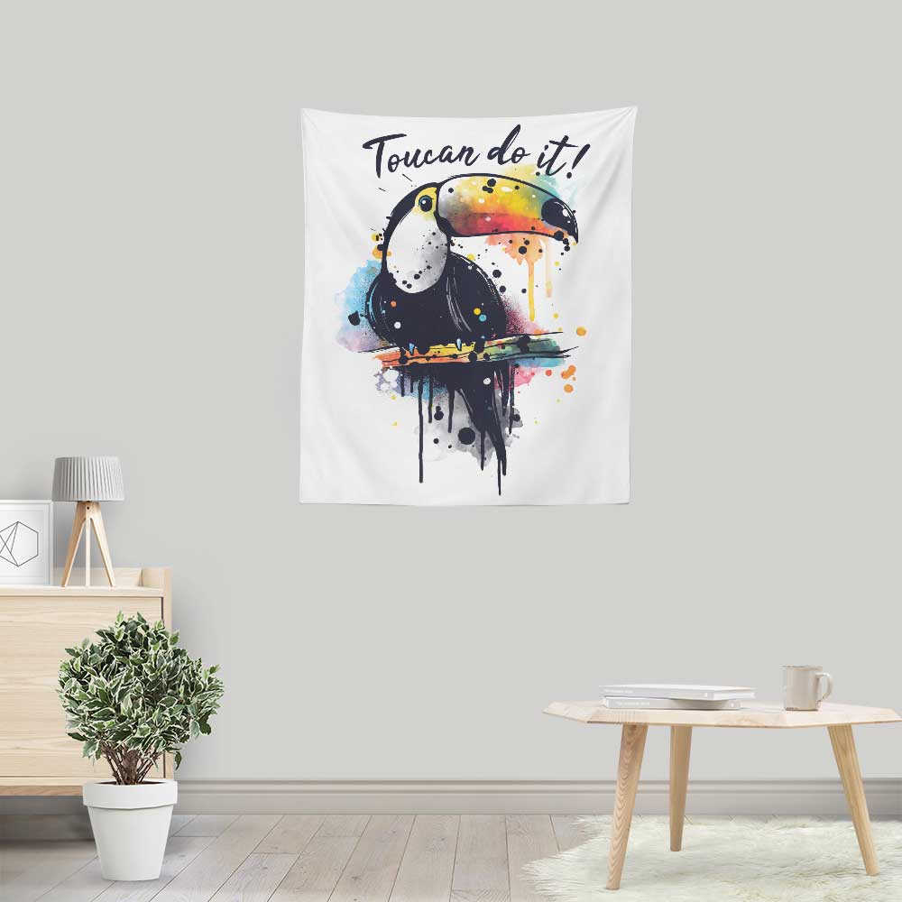 Toucan Do It - Wall Tapestry