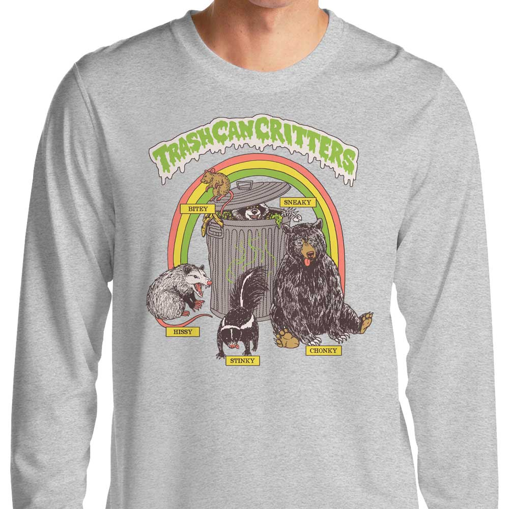 Trash Can Critters - Long Sleeve T-Shirt