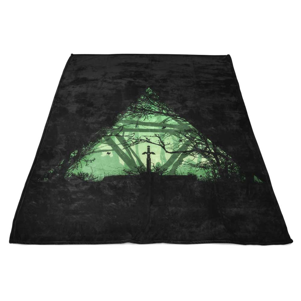 Tree Force - Fleece Blanket
