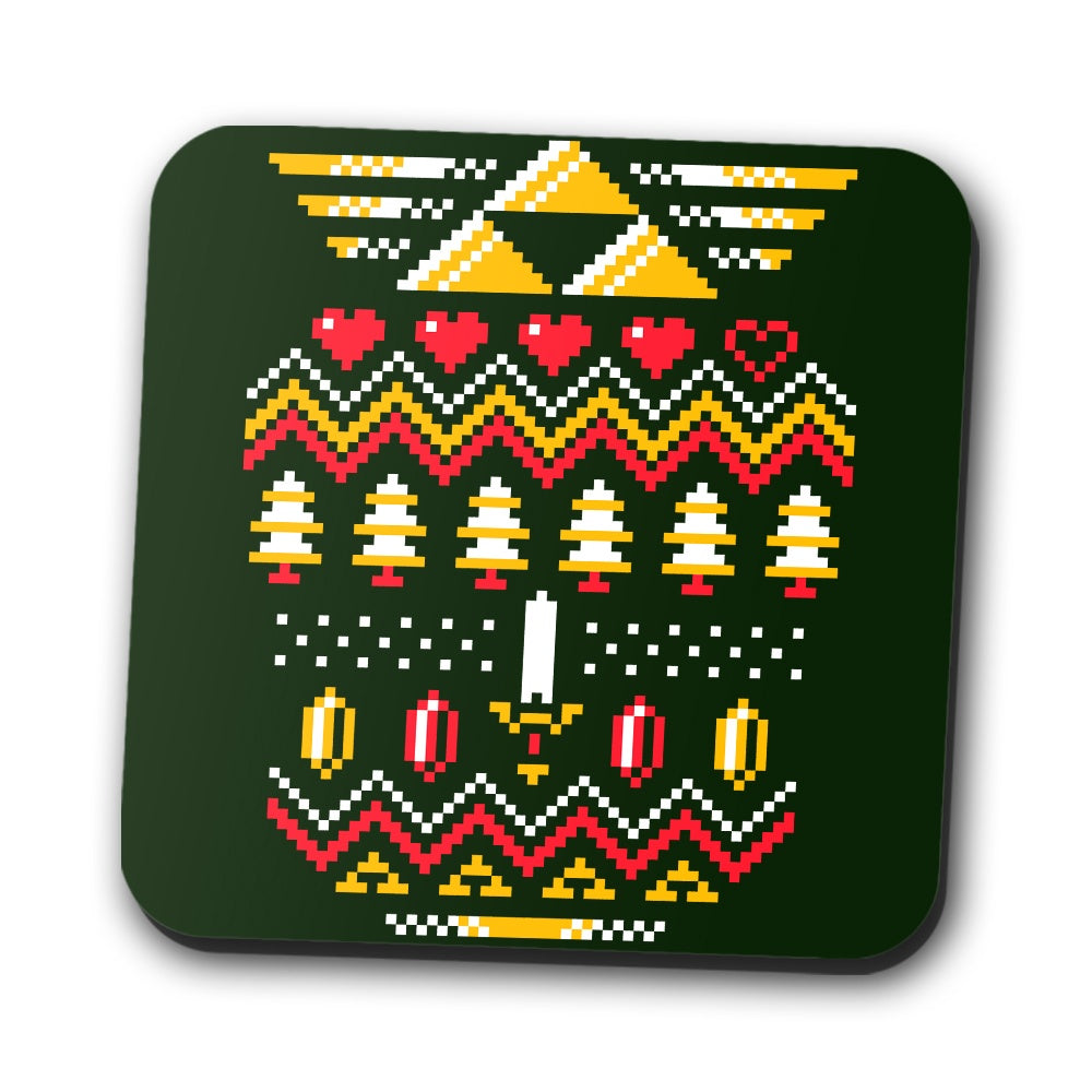 Triforce Holiday - Coasters
