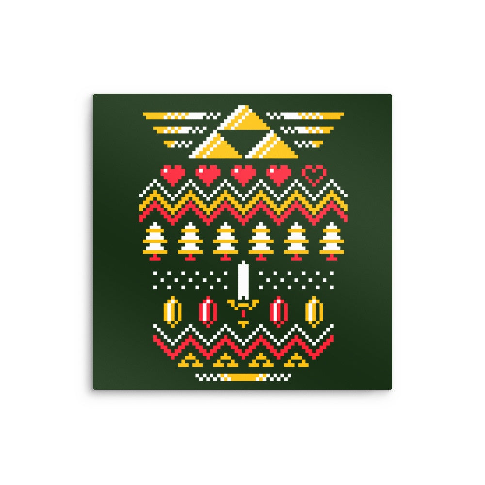 Triforce Holiday - Metal Print