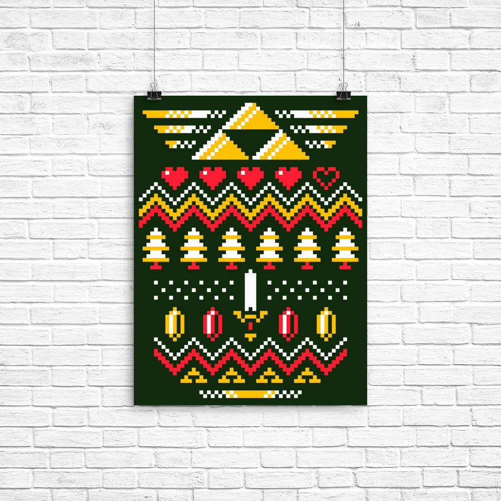 Triforce Holiday - Poster