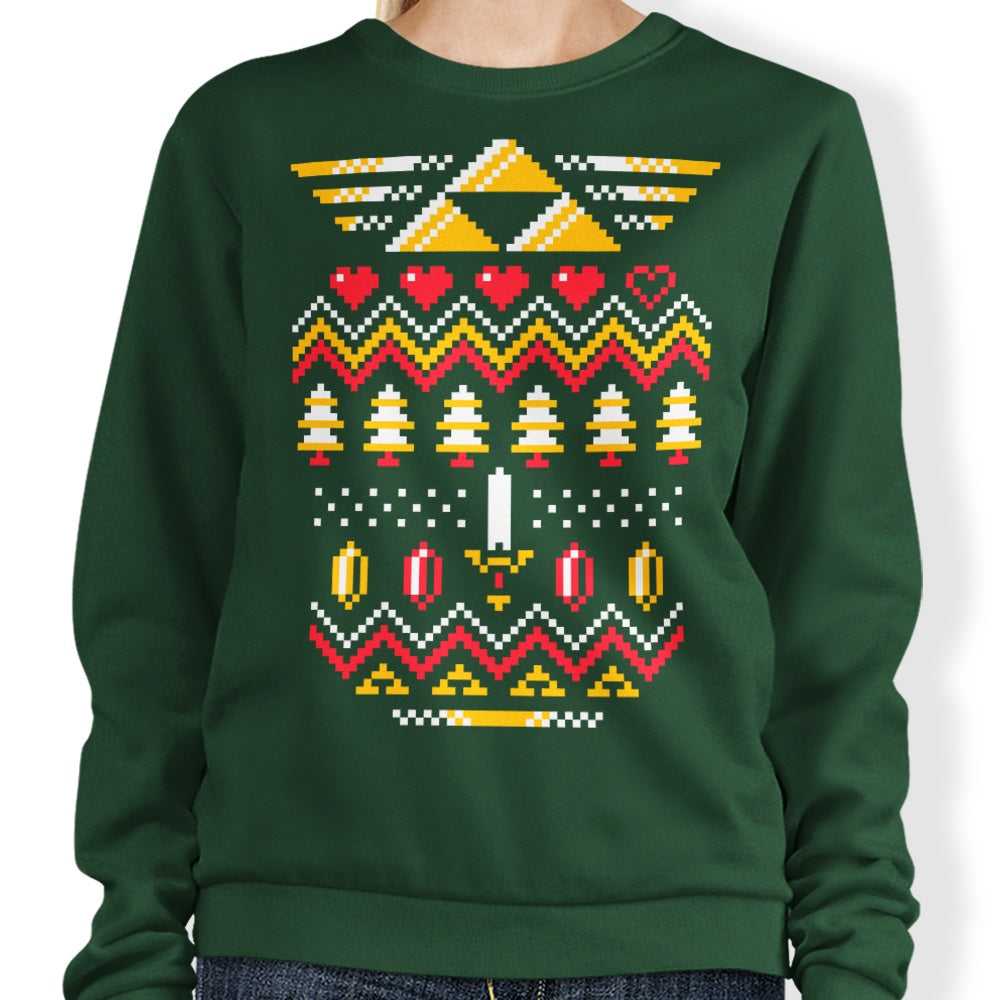 Triforce Holiday - Sweatshirt