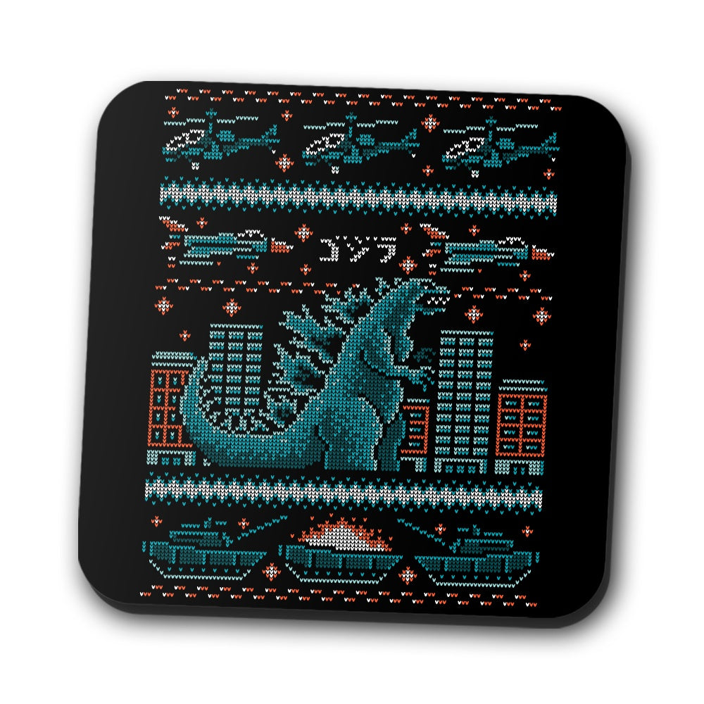 Ugly Kaiju Sweater - Coasters