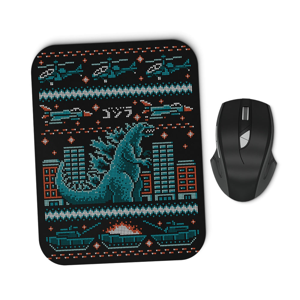 Ugly Kaiju Sweater - Mousepad