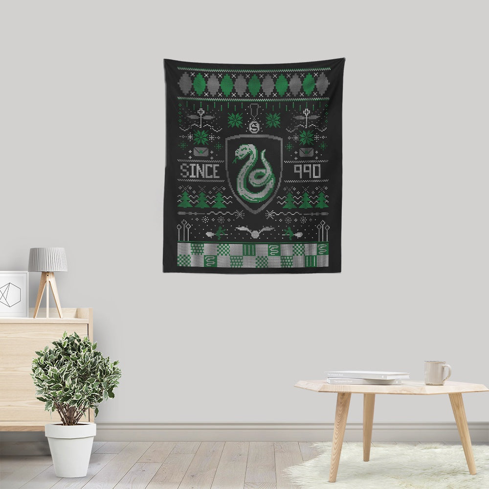 Ugly Serpent Sweater - Wall Tapestry