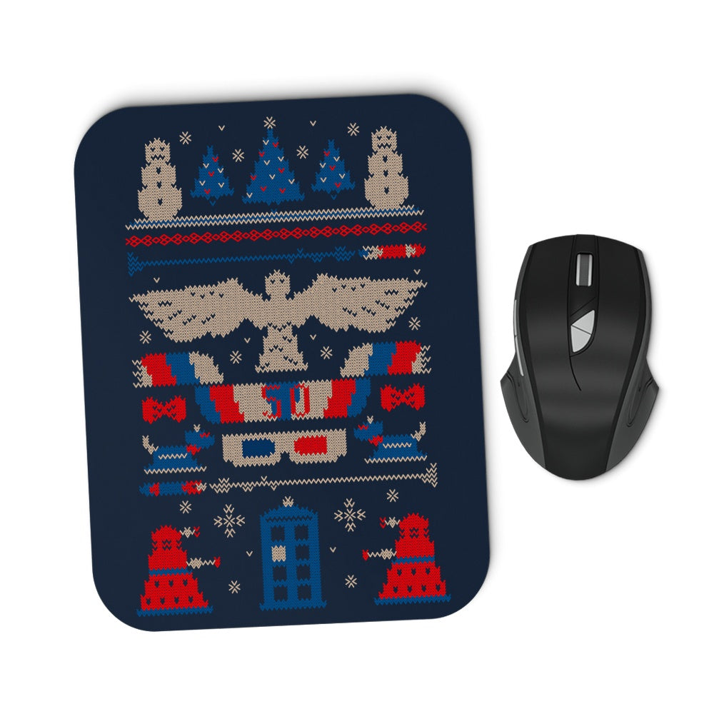 Ugly Who Sweater - Mousepad