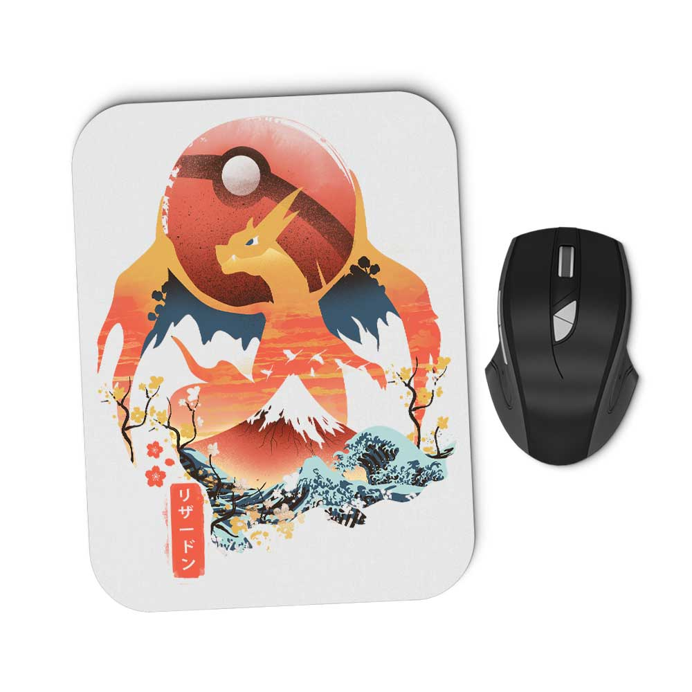 Ukiyo Fire - Mousepad