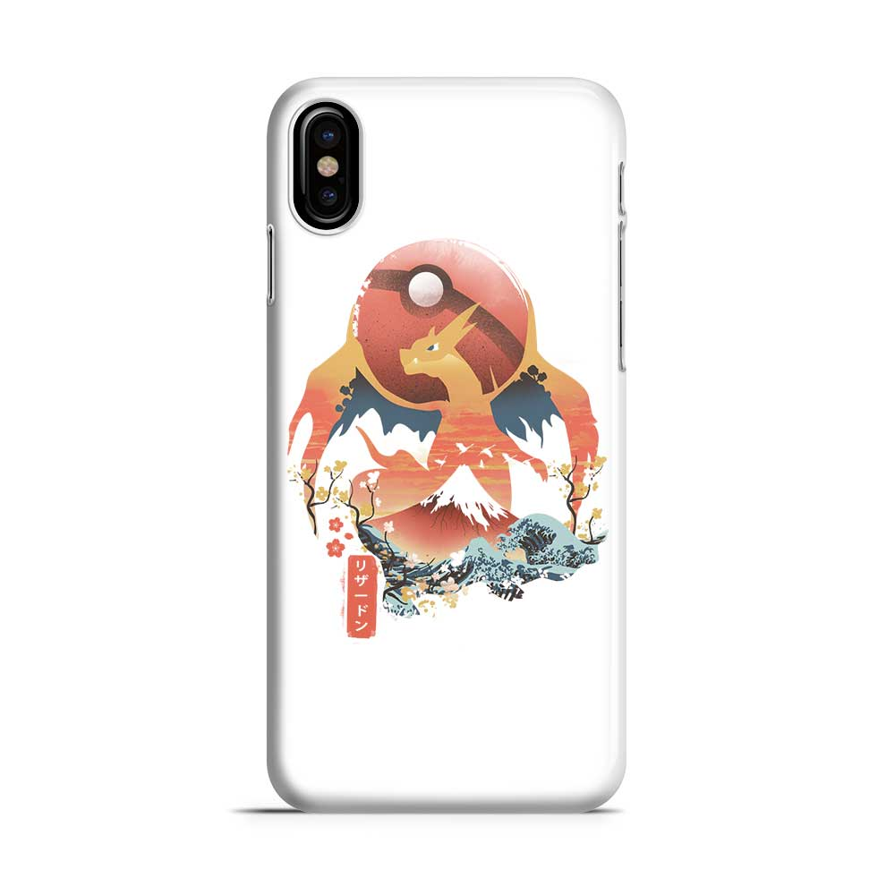 Ukiyo Fire - Phone Case