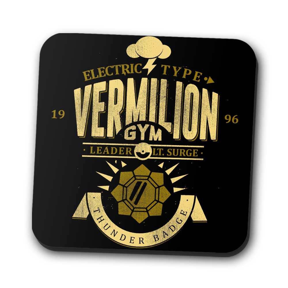 Vermillion City Gym - Coasters
