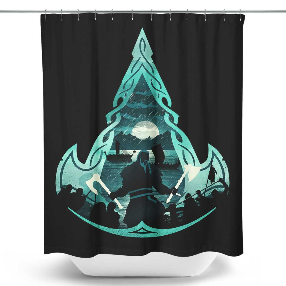 Viking's Creed - Shower Curtain