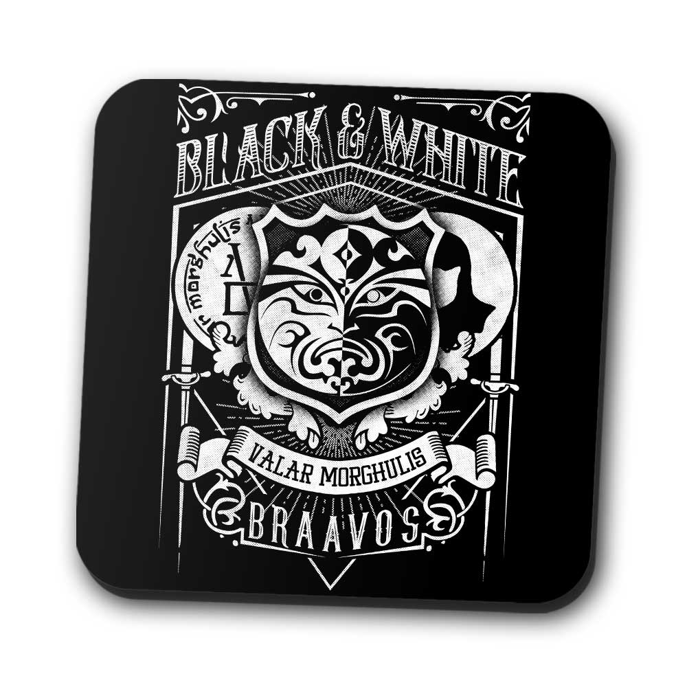 Vintage Black and White - Coasters