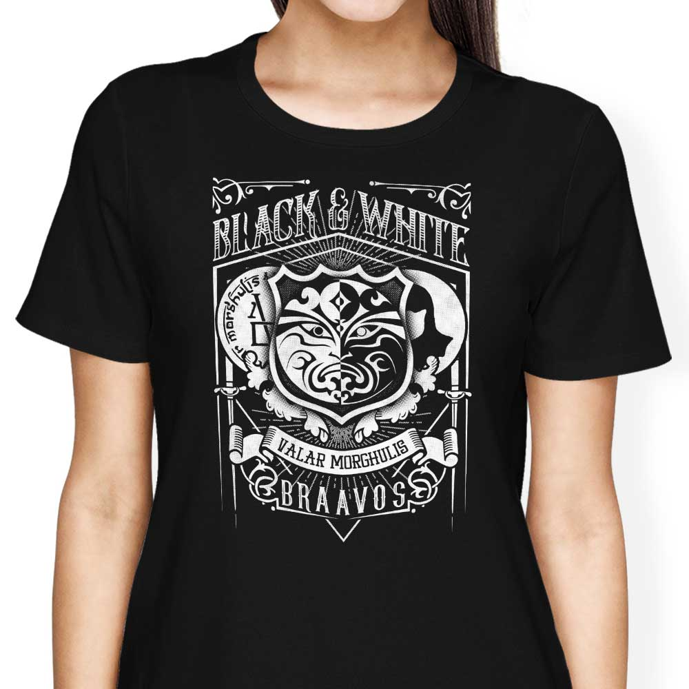Vintage Black and White - Women's Apparel