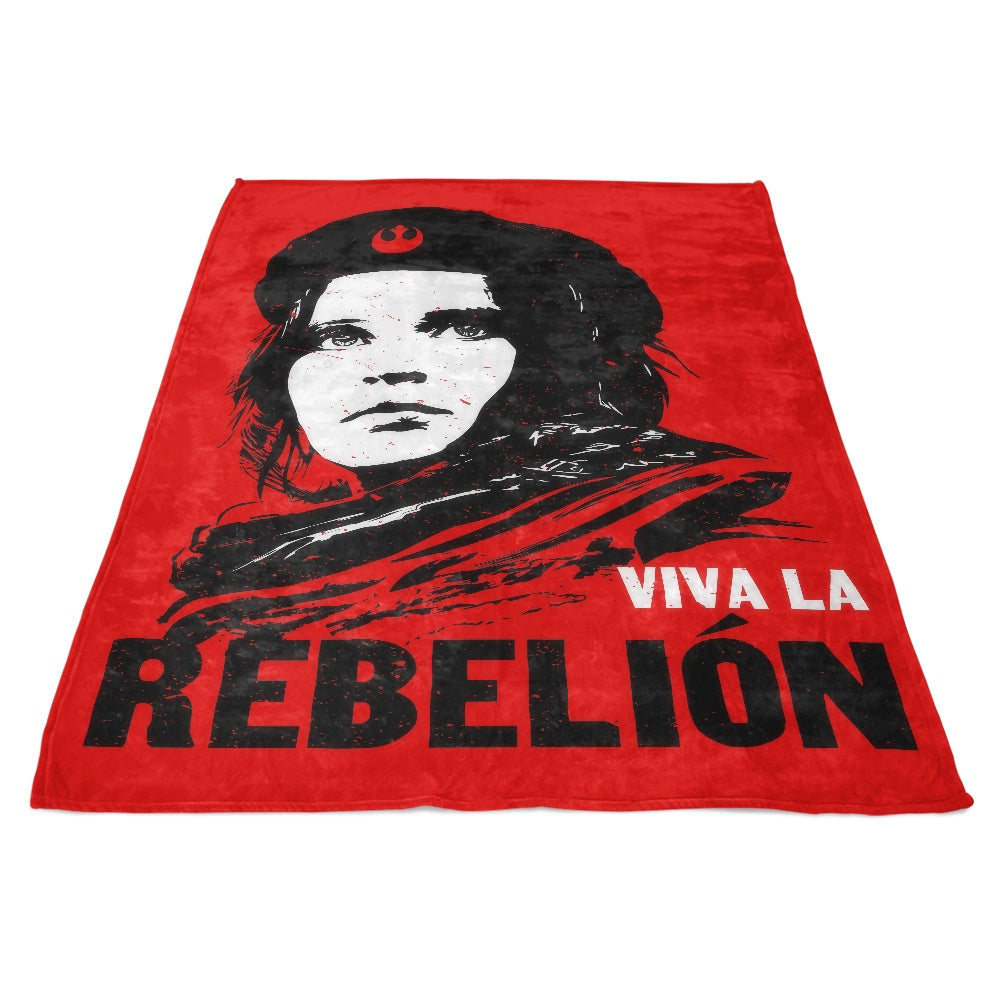 Viva La Rebelion - Fleece Blanket