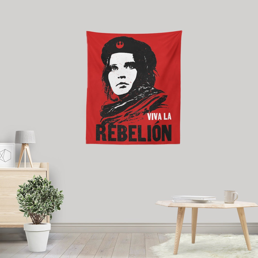 Viva La Rebelion - Wall Tapestry