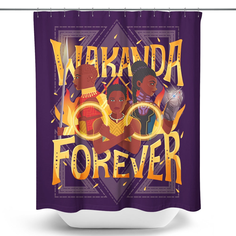 Wakanda Forever - Shower Curtain