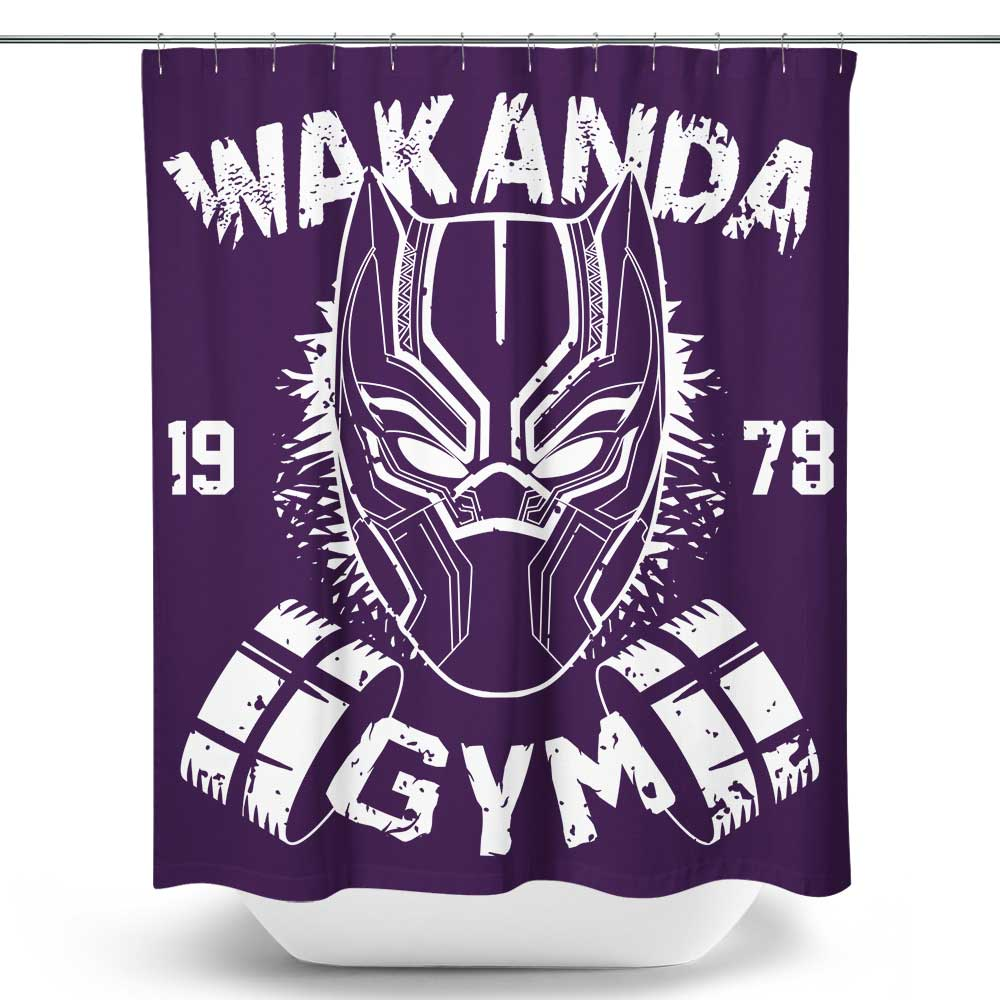 Wakanda Gym - Shower Curtain