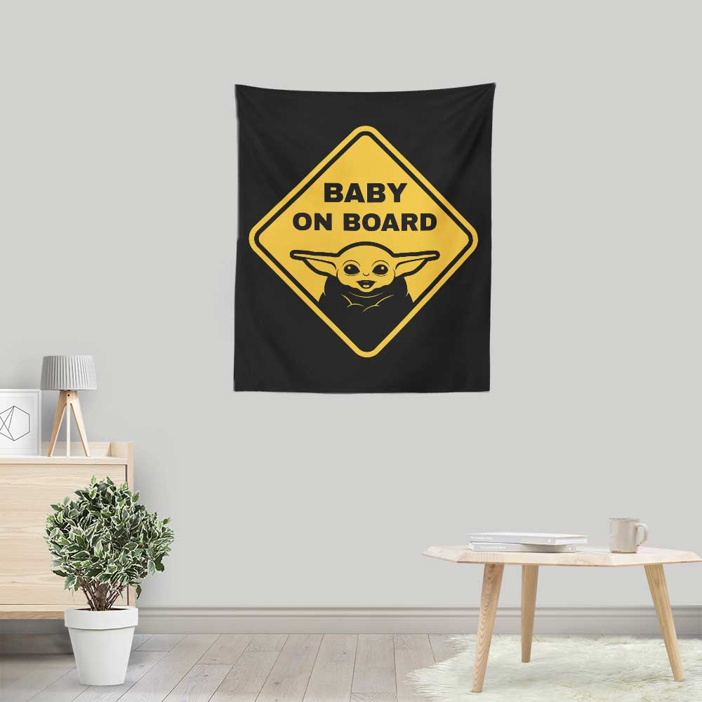 Wamp Rat on Board - Wall Tapestry