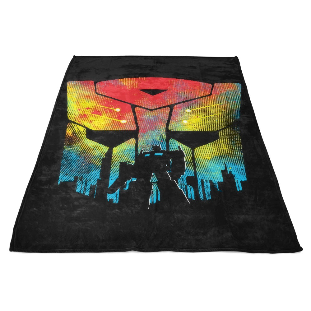 War on Earth - Fleece Blanket