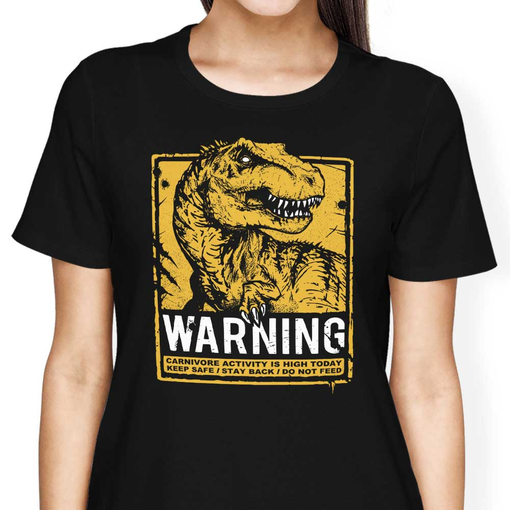 Warning: Carnivore - Women's Apparel