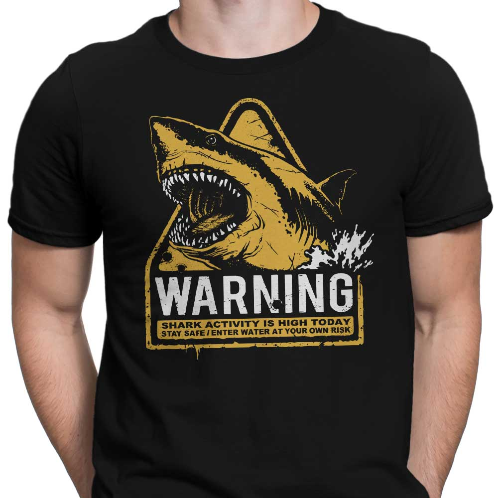 Warning: Maneater - Men's Apparel