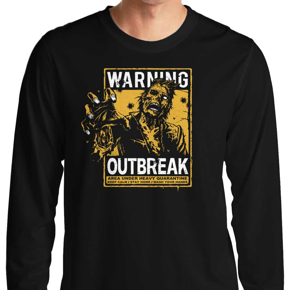 Warning: Outbreak - Long Sleeve T-Shirt