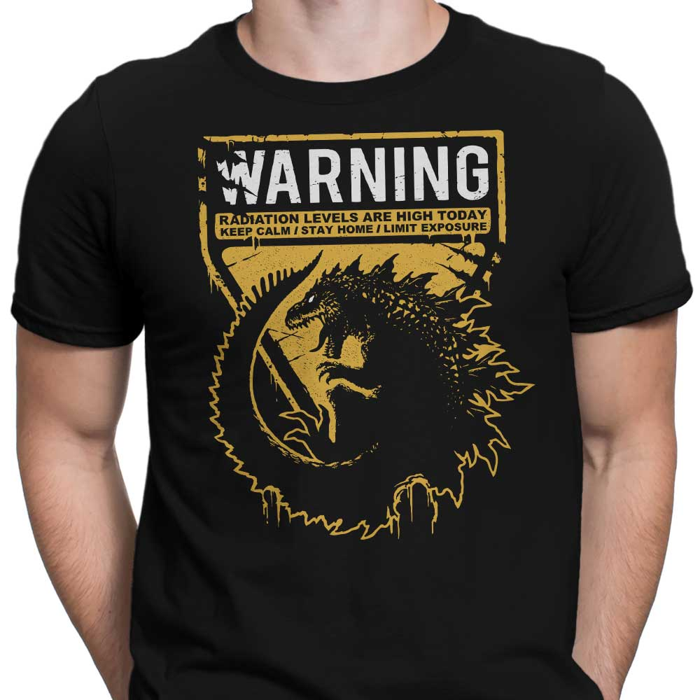 Warning: Radiation - Men's Apparel
