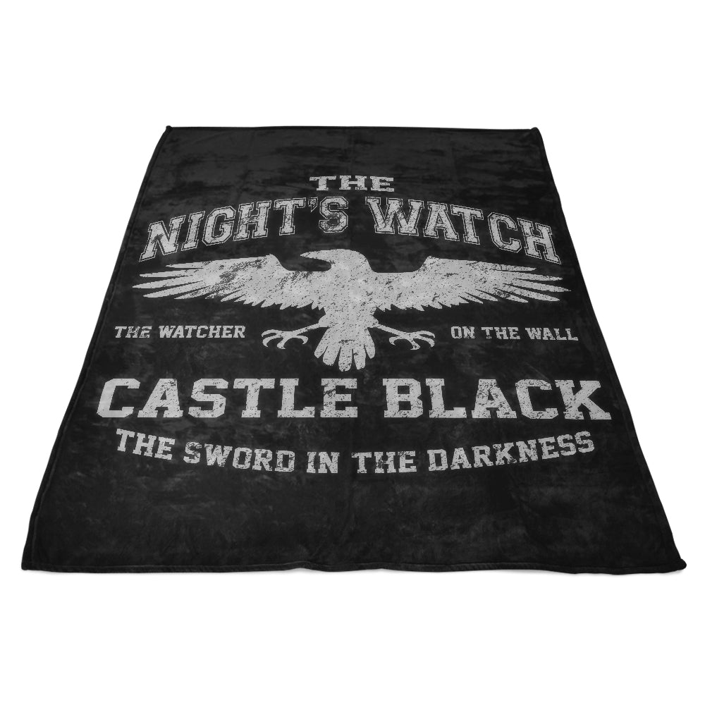 Watcher on the Wall - Fleece Blanket