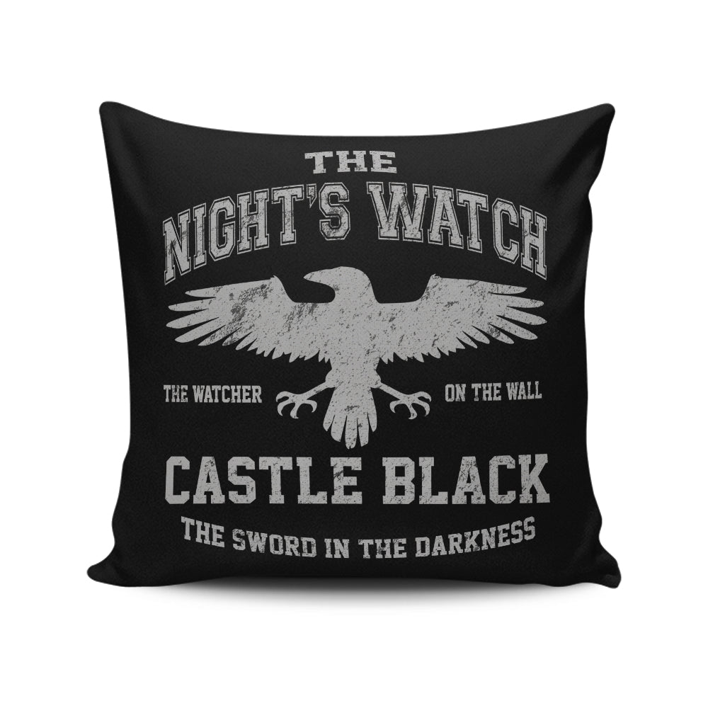 Watcher on the Wall - Throw Pillow