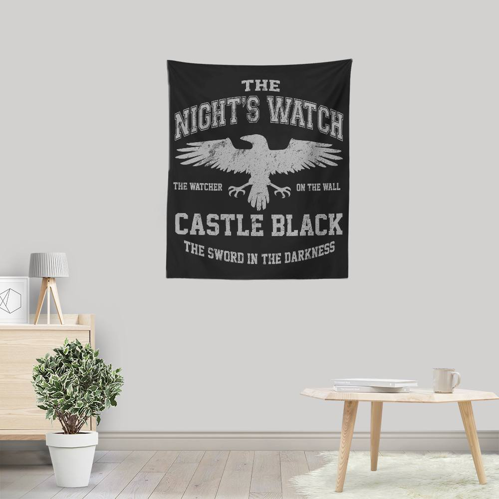 Watcher on the Wall - Wall Tapestry