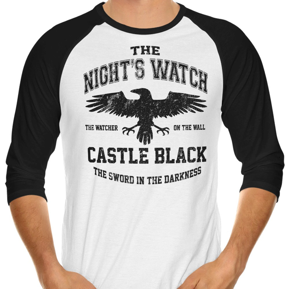 Watcher on the Walls (Alt) - 3/4 Sleeve Raglan T-Shirt