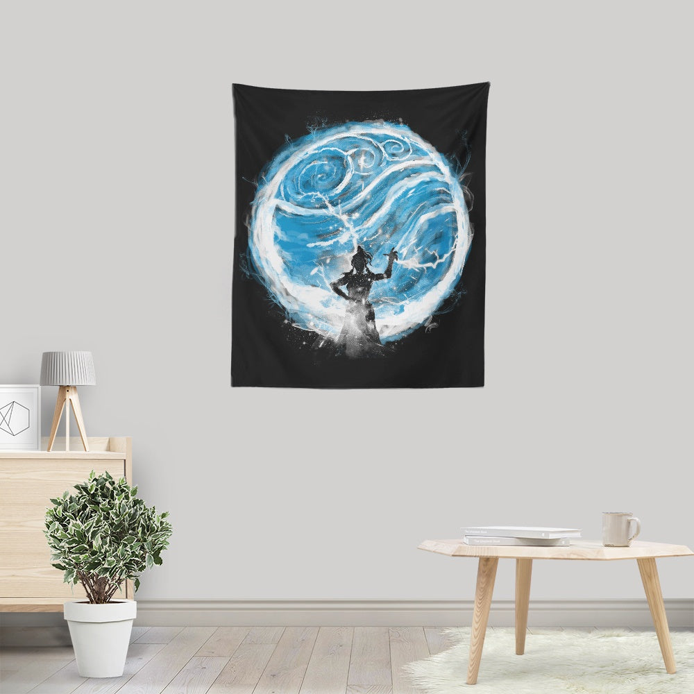 Water Elemental - Wall Tapestry