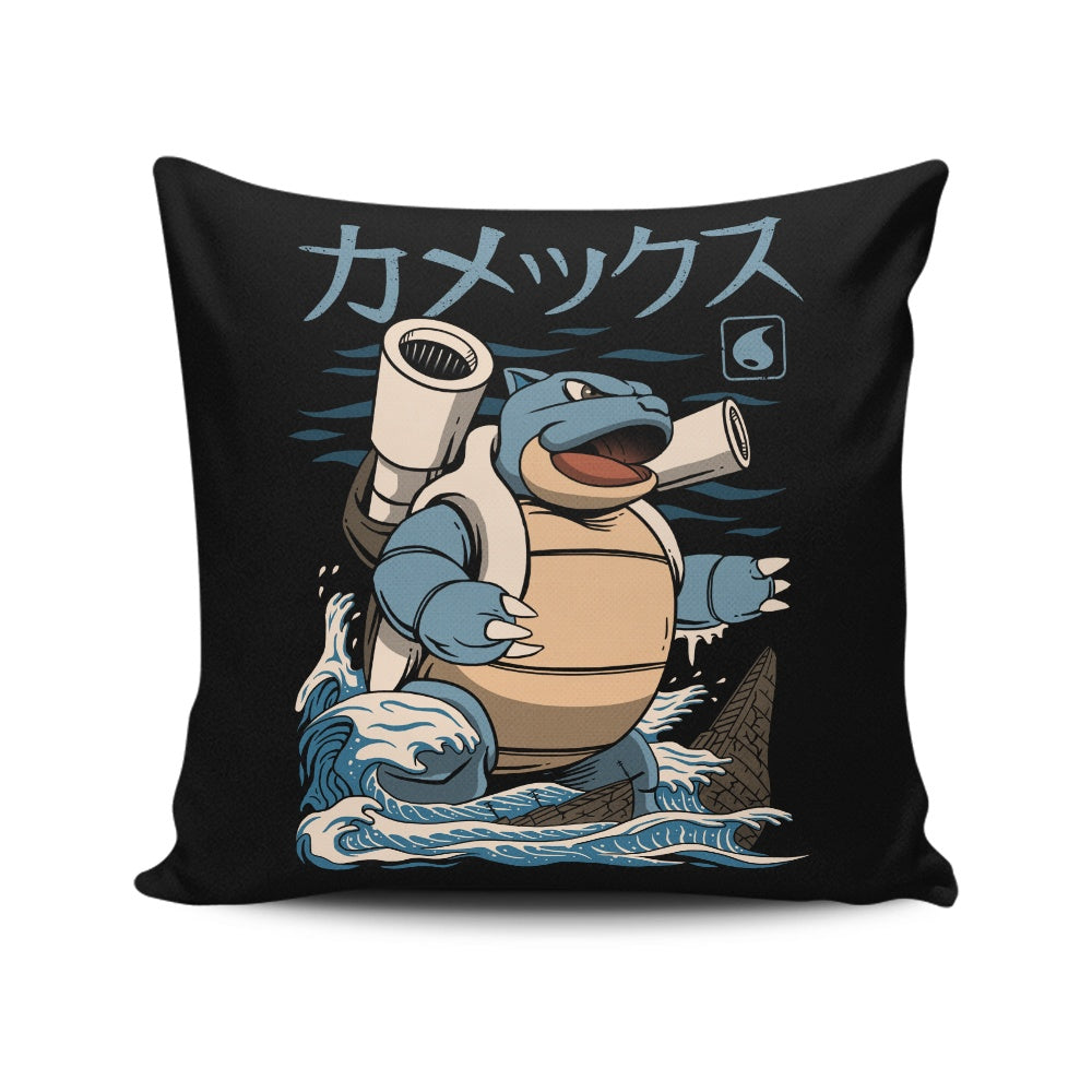 Water Kaiju - Throw Pillow