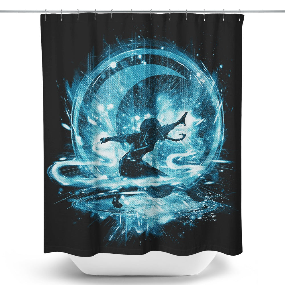 Water Storm - Shower Curtain