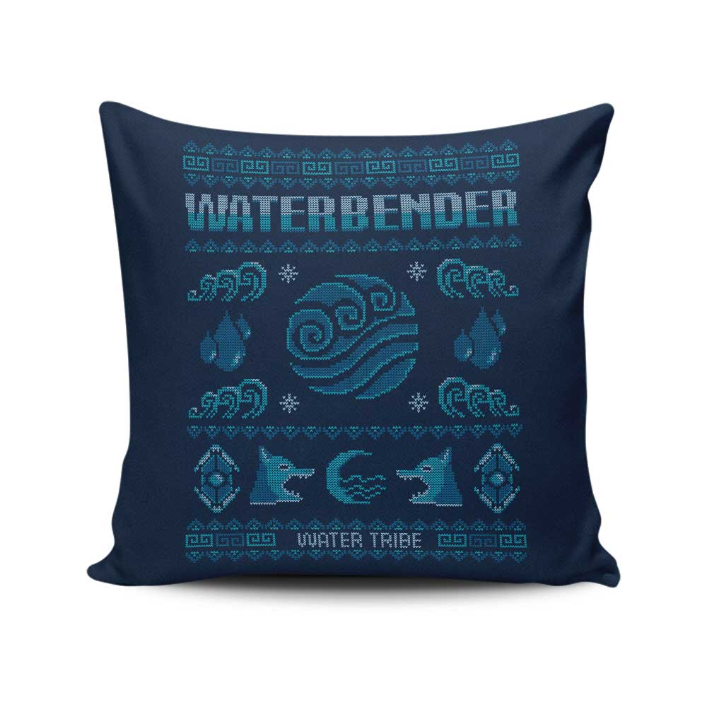 Water Tribe's Sweater - Throw Pillow