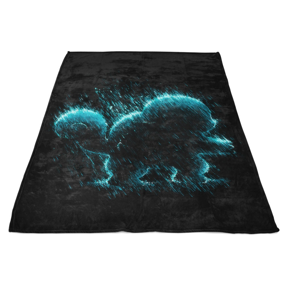 Water Type - Fleece Blanket