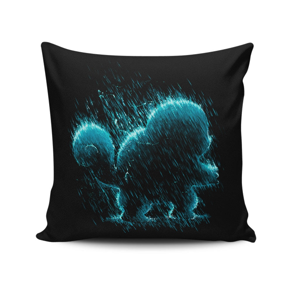 Water Type - Throw Pillow