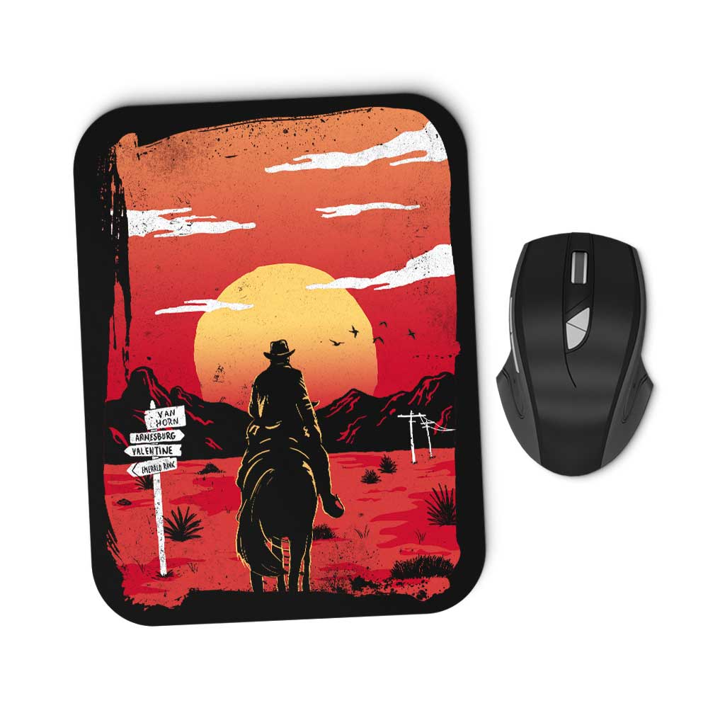 Way to Nowhere - Mousepad