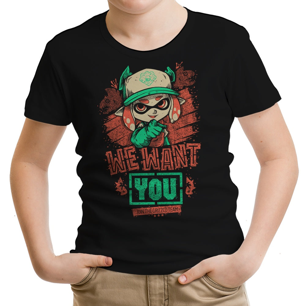 We Want You - Youth Apparel