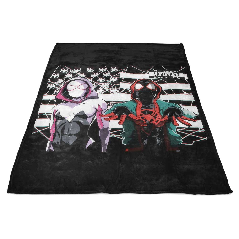 Web Onia - Fleece Blanket