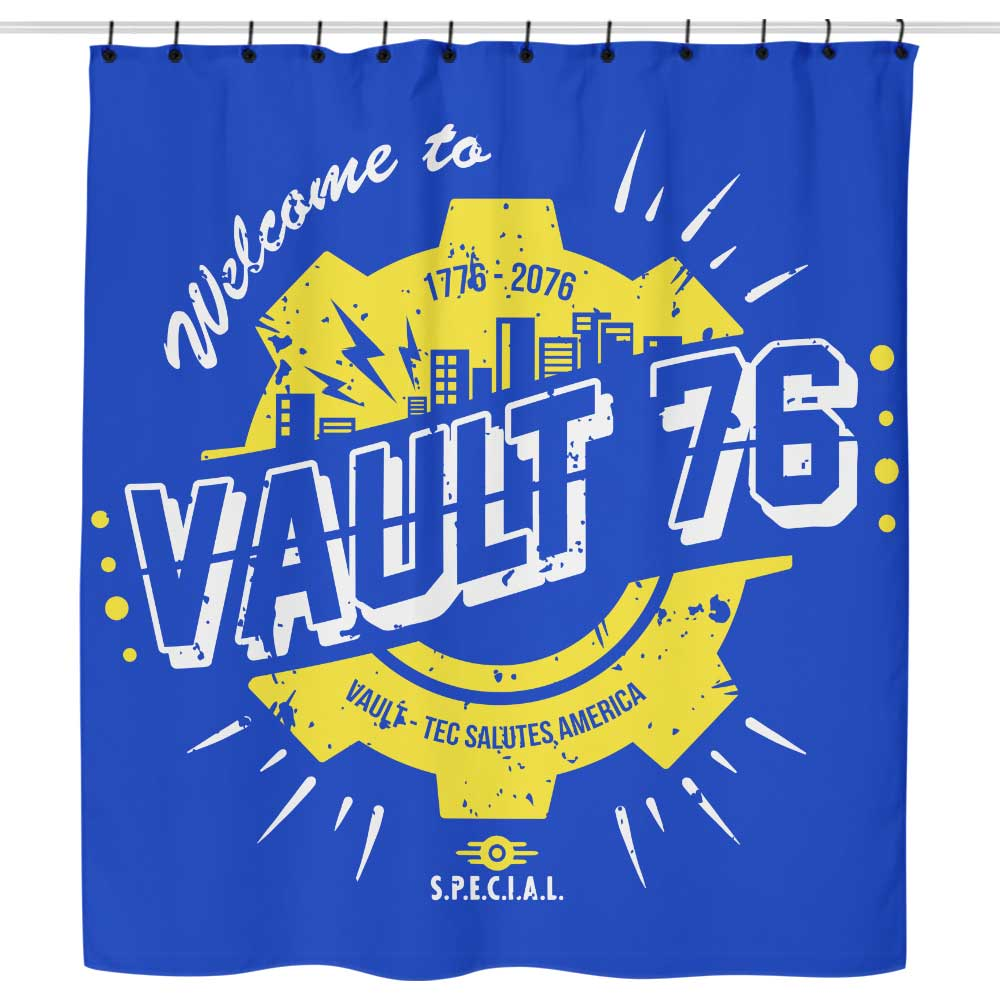 Welcome to 76 - Shower Curtain
