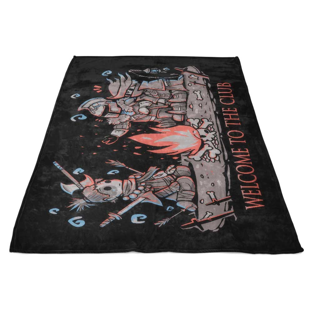 Welcome to the Club - Fleece Blanket